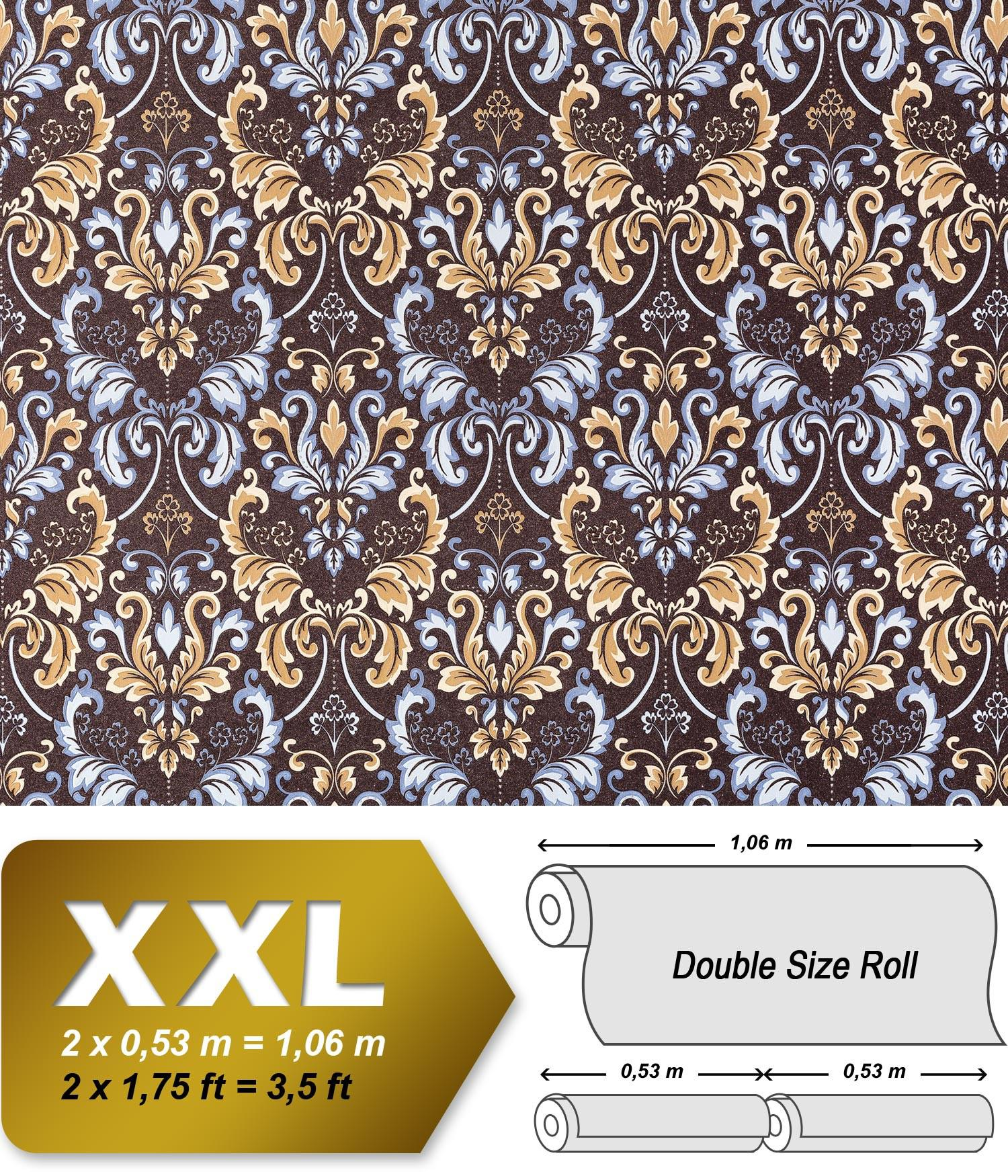 vliestapete barock tapete xxl edem 966 26 muster ornament. Black Bedroom Furniture Sets. Home Design Ideas