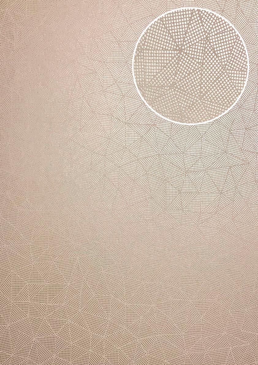 AuBergewohnlich Grafik Tapete ATLAS XPL 590 4 Vliestapete Strukturiert Mit Geometrischen  Formen Schimmernd Grau Bronze ...