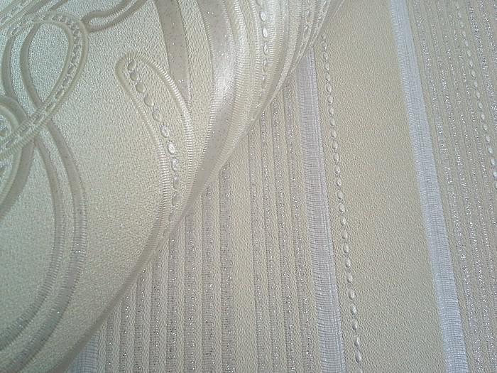 Tapete weiß silber glitzer  Barock Tapete XXL Vliestapete EDEM 993-31 Elegantes Damastmuster ...