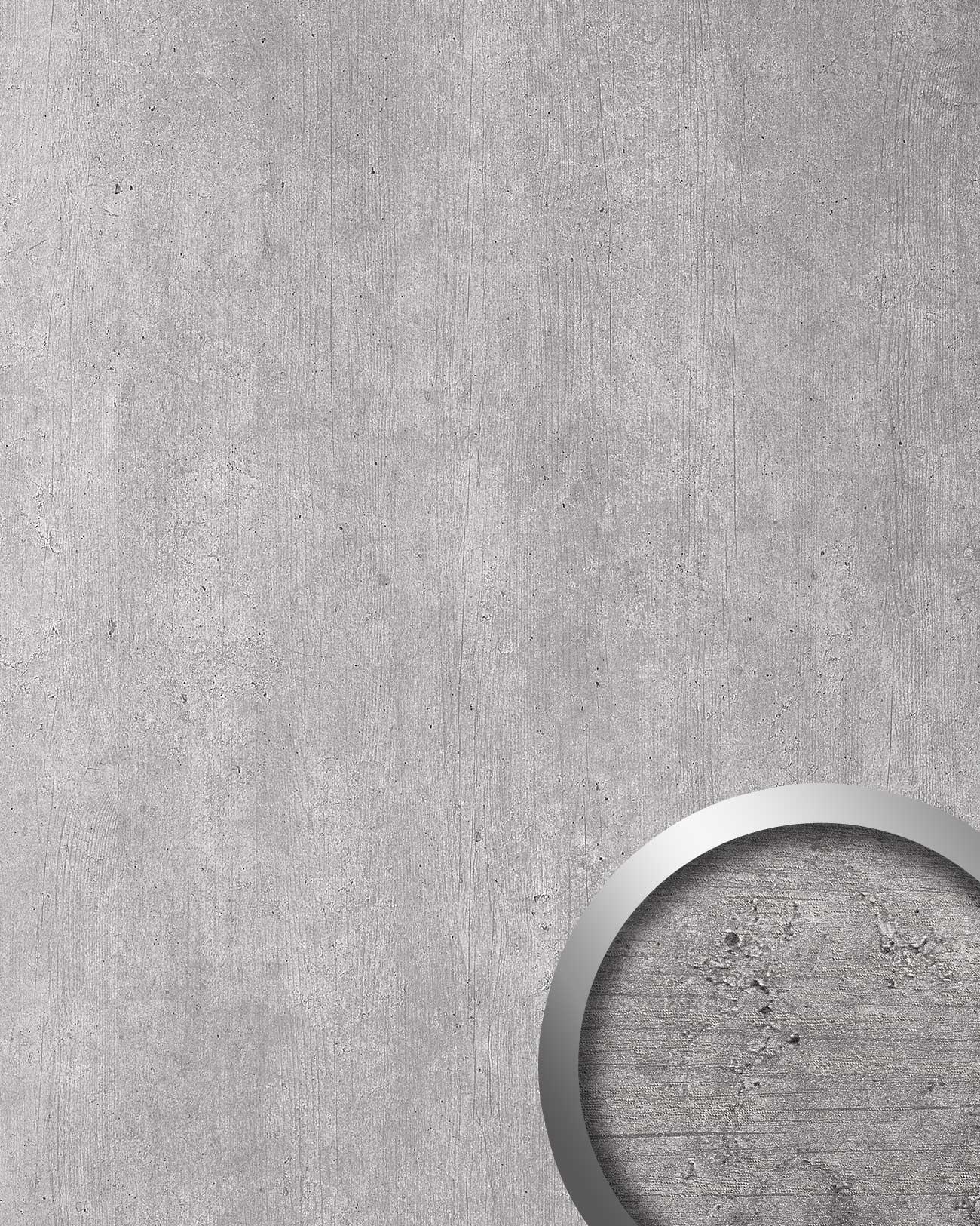 wandpaneel beton optik wallface 19091 cement light stein. Black Bedroom Furniture Sets. Home Design Ideas