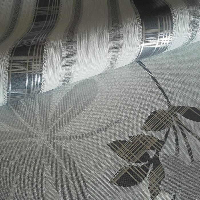 Streifen Tapete Vliestapete Edem 640-96 Textilstruktur Mit