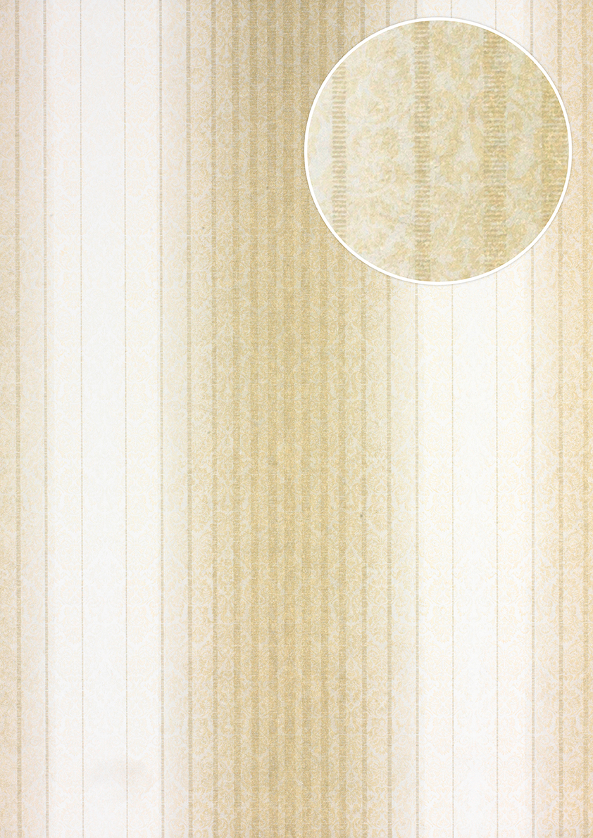 streifen tapete atlas pri 825 3 vliestapete glatt im. Black Bedroom Furniture Sets. Home Design Ideas