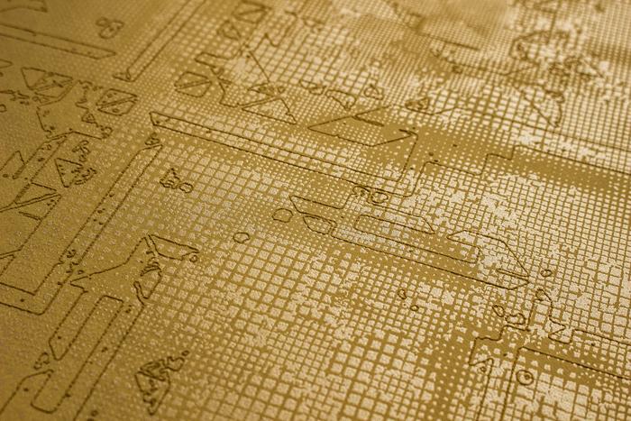 grafik tapete atlas sig 185 5 vliestapete strukturiert mit. Black Bedroom Furniture Sets. Home Design Ideas