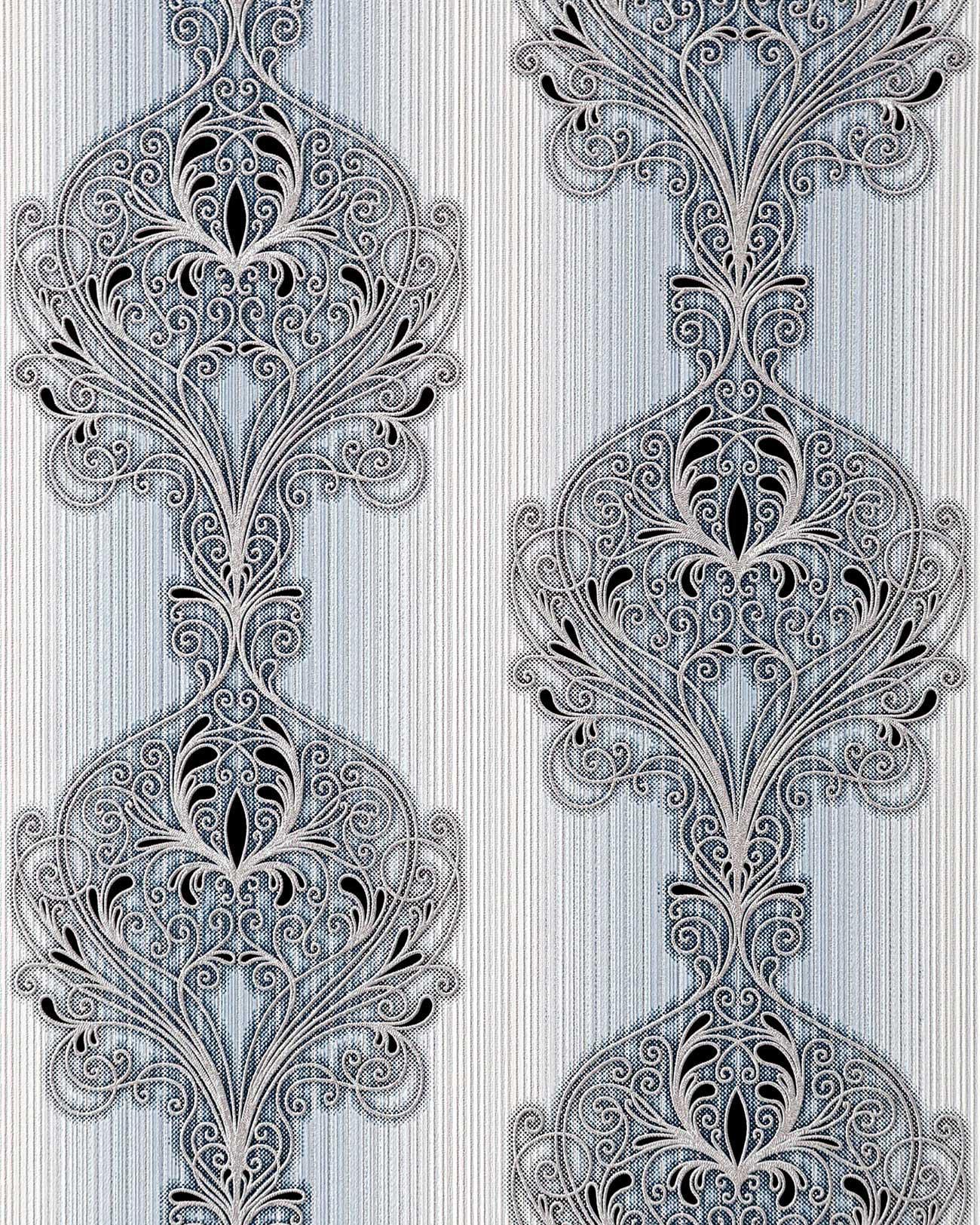 3D Barock Tapete EDEM 096-26 Tapete Damask prunkvolle Ornament ...