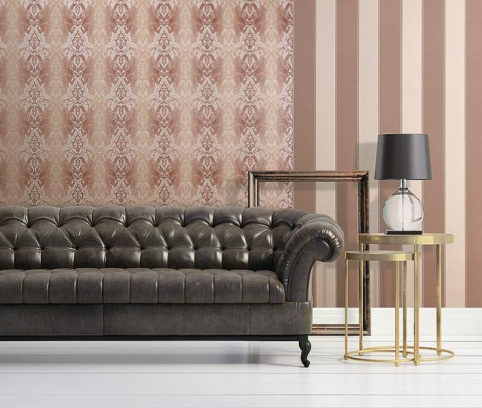 3d barock tapete damask edem 770 30 luxus tapete. Black Bedroom Furniture Sets. Home Design Ideas