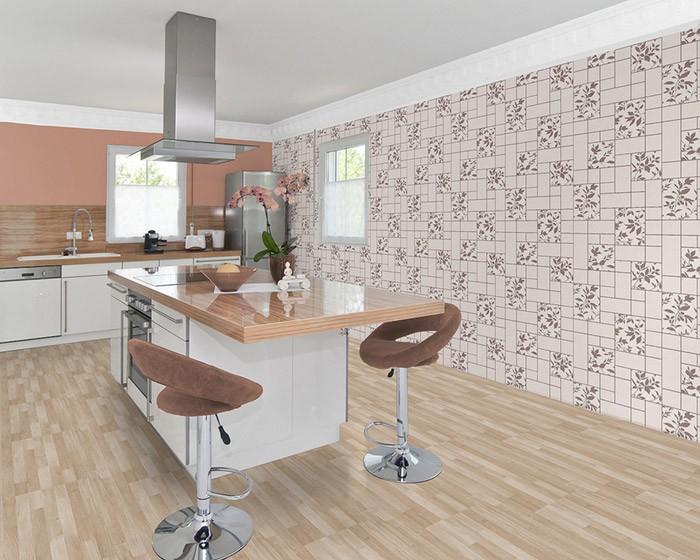 Küche Bad Tapete EDEM 146-23 3D Steintapete Flur Hobbyraum Tapete ...