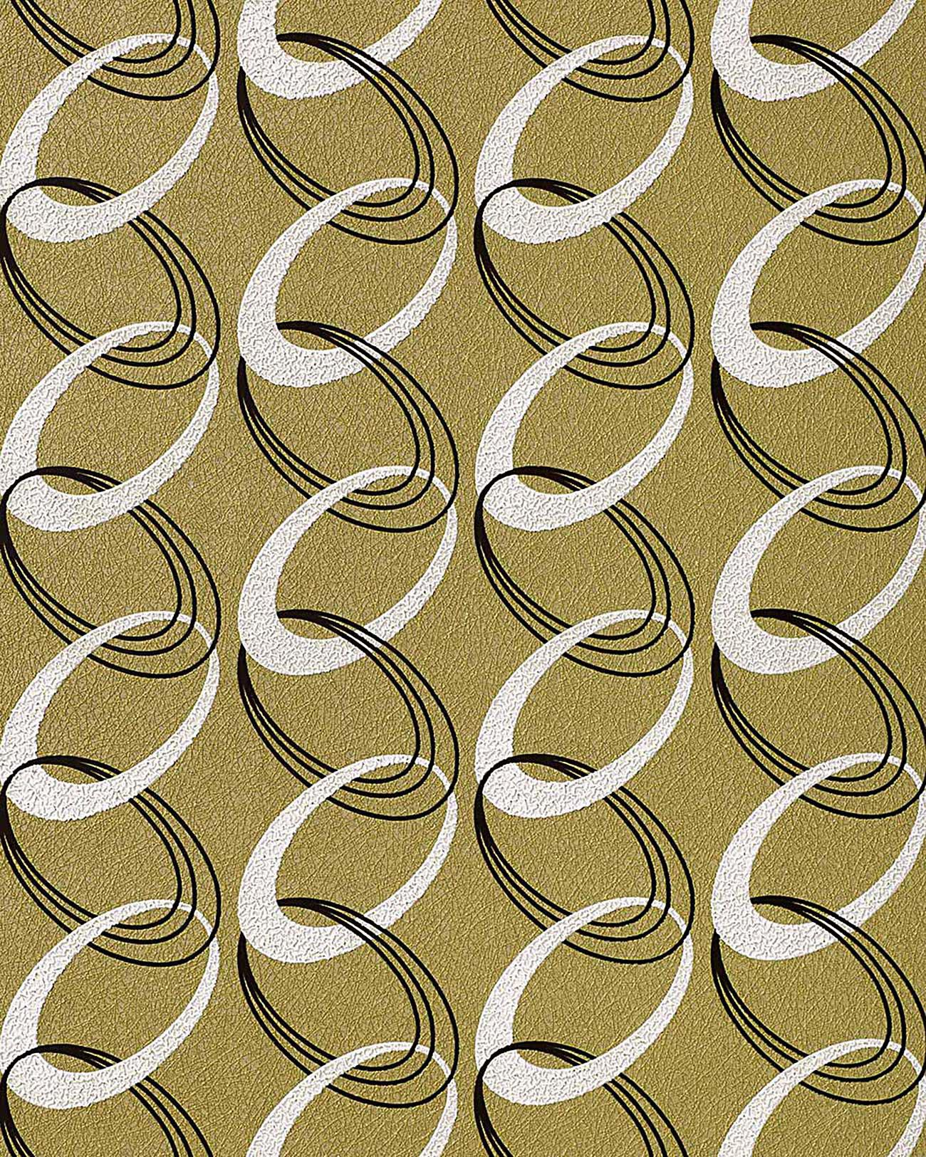 retro tapete edem 1017 15 retrotapete fashion designer 70er retro tapete ketten muster. Black Bedroom Furniture Sets. Home Design Ideas