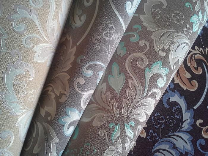 ... Vliestapete Barock Tapete XXL EDEM 966 26 Muster Ornament Klassisch  Braun Blau Beige ...