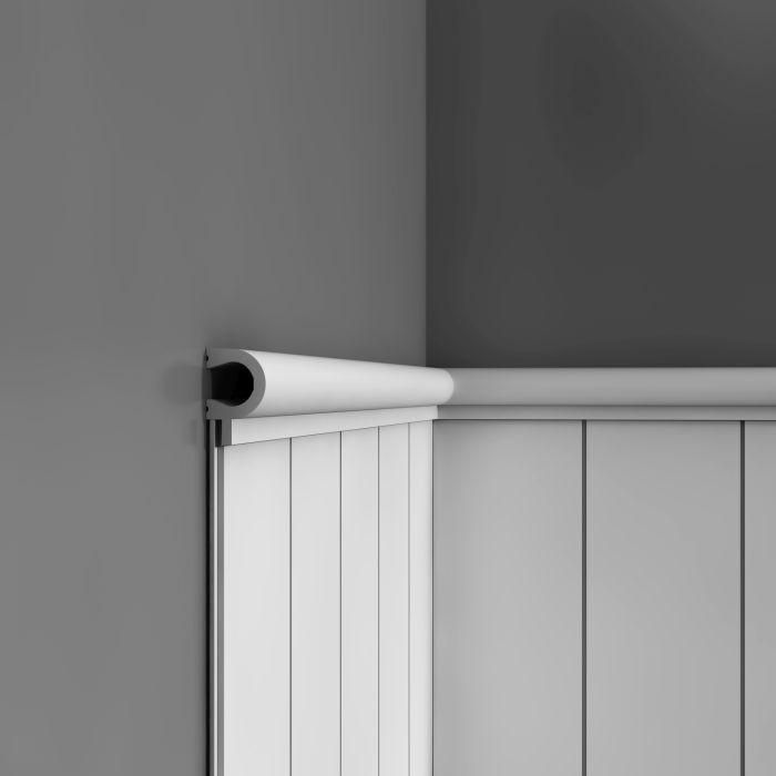 wandleiste zierleiste von orac decor px169 axxent profilleiste friesleiste stuckprofil wand. Black Bedroom Furniture Sets. Home Design Ideas