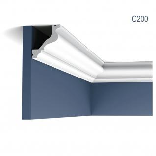 Stuck Zierleiste Orac Decor C200 LUXXUS Eckleiste Profilleiste leiste dekor Decken Wand Leiste 2 Meter