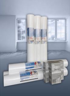 SPARSET NORMVLIES 150 g Renoviervlies 6 Rollen 112, 5 m2 + Kleber KOSTENLOS | Glattvlies Malervlies glatte überstreichbare Vliestapete weiß