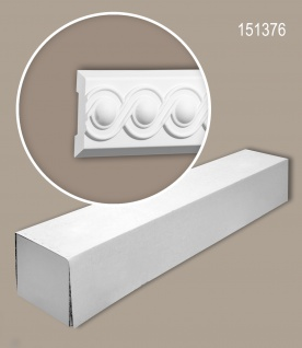 Profhome 151376 1 Karton SET mit 16 Wand- und Friesleisten Zierleisten Stuckleisten | 32 m