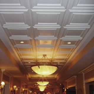 3D Wand Paneel Zierelement Orac Decor F30 LUXXUS Deckenplatte Deckenpaneel für Tür oder Decke Polyurethan | 60 x 60 cm - Vorschau 2
