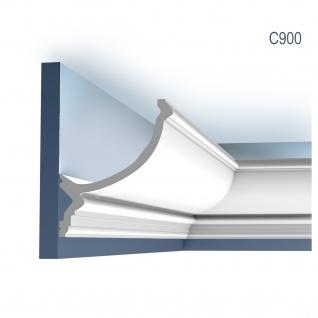 Stuck Zierleiste Orac Decor C900 LUXXUS Eckleiste für indirekte Beleuchtung Eckleiste Gesims 2 Meter