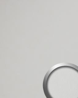 Wandverkleidung Leder Optik WallFace 19303 WIMBORNE WHITE Wandpaneel glatt in Nappaleder Optik matt selbstklebend weiß rein-weiß 2, 6 m2