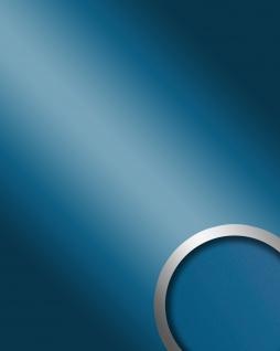 Wandverkleidung Platte selbstklebend blau WallFace 10219 DECO SKYBLUE Wandpaneel Spiegel Design Glanz-Optik 2, 60 qm