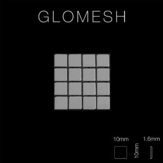 Mosaik Fliese massiv Metall Edelstahl marine hochglänzend in grau 1, 6mm stark ALLOY Glomesh-S-S-MM 1, 07 m2 - Vorschau 2