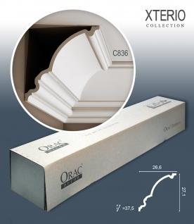 Orac Decor C836 XTERIO 1 Karton SET mit 6 Eckleisten Zierleisten | 12 m