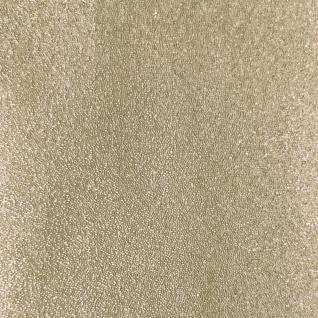 Luxus Glasperlen Wandverkleidung WallFace CBS14-4 CRYSTAL Uni Vliestapete handgearbeitet mit echten Glasperlen glänzend beige 9, 80 m2 Rolle