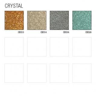Luxus Glasperlen Wandverkleidung WallFace CBS16-4 CRYSTAL Uni Vliestapete handgearbeitet mit echten Glasperlen glänzend silber-grau 9, 80 m2 Rolle - Vorschau 4