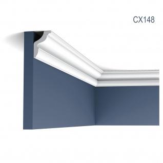 Stuck Leiste Eckleiste Orac Decor CX148 AXXENT Zierleiste Profilleiste Wand Leiste Decken Leiste 2 Meter