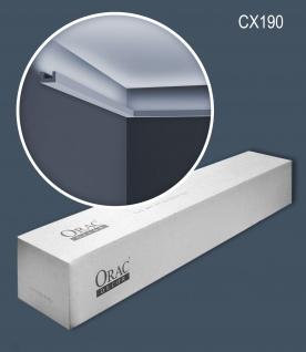 Orac Decor CX190-box 1 Karton SET mit 25 Eckleisten Zierleisten   50 m