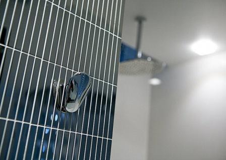 Mosaik Fliese massiv Metall Edelstahl marine hochglänzend in grau 1, 6mm stark ALLOY Linear-S-S-MM 0, 94 m2 - Vorschau 4