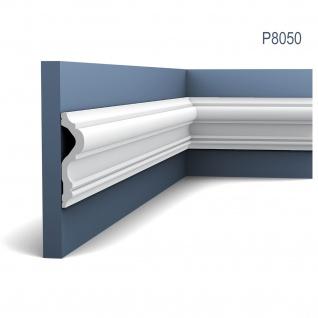 Stuckprofil Friesleiste Rahmen Orac Decor P8050 LUXXUS Wand Leiste Dekor Profil Relief Leiste Zierleiste Wand | 2 Meter - Vorschau 1