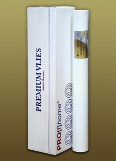 PROFHOME PremiumVlies 150 g Profi-Malervlies Renoviervlies Glattvlies überstreichbare Vliestapete weiß | 1 Karton 100 qm