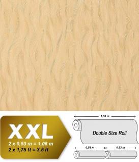 Geprägte Tapete Vliestapete EDEM 932-22 Dekorative Luxus 3D Präge sandgelb beige safran-gelb | 10, 65 qm