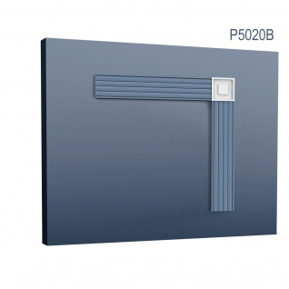 Stuck Quadrat Zierelement Orac Decor P5020B LUXXUS Eckelement Stuckgesims klassisches Wand Dekor Element 9 x 9 cm