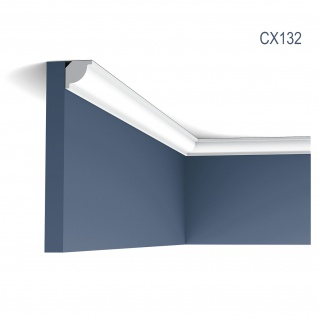 Stuckleiste Zierleiste Profilleiste Orac Decor CX132 AXXENT Stuck Profil Eckleiste Wand Leiste Decken Leiste 2 Meter