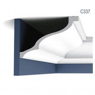 Stuck Zierleiste Orac Decor C337 LUXXUS Eckleiste Profilleiste leiste Deckenprofil Wandleiste klassisch | 2 Meter