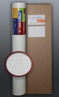 EDEM 80350BR60-4 Vliestapete GROSSROLLEN dekorative Struktur überstreichbar atmungsaktiv Maler weiß 106 qm 1 Kart 4 Rollen