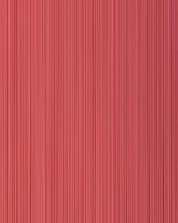 Streifen-Tapete EDEM 557-14 Hochwertige Tapete strukturiert in Textiloptik matt rubin-rot himbeer-rot karmin-rot 5, 33 m2