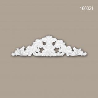 Zierelement PROFHOME 160021 Rokoko Barock Stil weiß