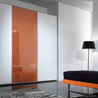 Wandpaneel Wandverkleidung Kunststoff WallFace 11713 BUBBLE Design Platte Blickfang Dekor selbstklebende Tapete orange silber 2, 60 qm - Vorschau 2