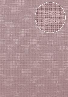 Uni Tapete Atlas COL-499-8 Vliestapete strukturiert mit Struktur schimmernd flieder pastell-violett 5, 33 m2
