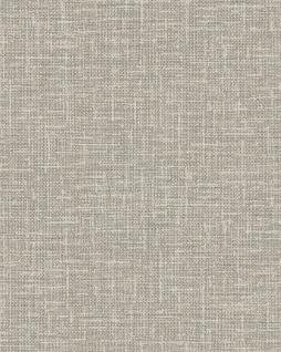 Textiloptik Tapete Profhome DE120113-DI heißgeprägte Vliestapete geprägt in Textiloptik matt grau beige 5, 33 m2