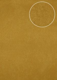 Ton-in-Ton Tapete Atlas ATT-5118-4 Vliestapete strukturiert mit Rauten Muster schimmernd gold bronze 7, 035 m2