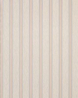 Streifen Tapete EDEM 112-33 Stilvolle Tapete Vinyltapete beige creme hell violett hell rosa perlmutt-akzent