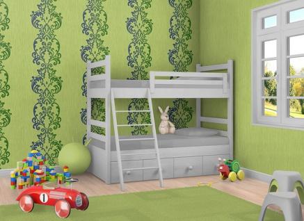 Uni Tapete EDEM 118-25 Tapete gestreift Vinyltapete gute Laune Farbe kiwi-grün perlmutt - Vorschau 2