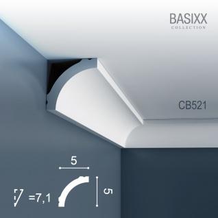 Orac Decor CB521 BASIXX 1 Karton SET mit 10 Stuckleisten Eckleisten | 20 m - Vorschau 2
