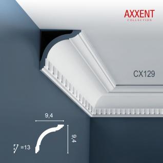 Zierleiste Profilleiste Orac Decor CX129 AXXENT Stuck Profil Eckleiste Wand Leiste Decken Leiste 2 Meter