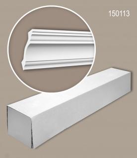 Profhome 150113 1 Karton SET mit 16 Eckleisten Zierleisten Stuckleisten   32 m