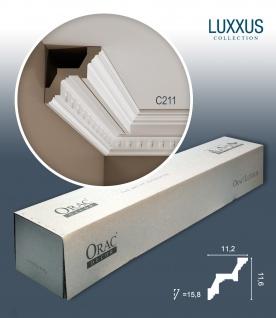 Orac Decor C211 LUXXUS 1 Karton SET mit 12 Eckleisten Stuckleisten | 24 m