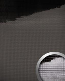 Wandpaneel WallFace 13357 M-Style Design Platte EyeCatch Mosaik Dekor selbstklebend spiegel glanz anthrazit 0, 96 qm