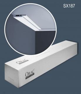 Orac Decor SX187-box 1 Karton SET mit 34 Sockelleisten Wandleisten | 68 m
