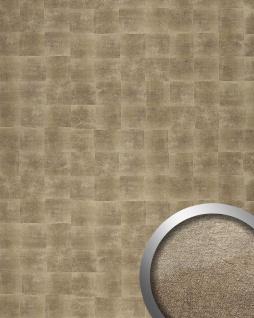 Wandpaneel Design Metalloptik Wandverkleidung WallFace 21488 DECO LUXURY Wandplatte Paneel selbstklebend bronze 2, 6 qm