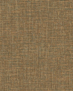 Textiloptik Tapete Profhome DE120115-DI heißgeprägte Vliestapete geprägt in Textiloptik matt gold braun 5, 33 m2